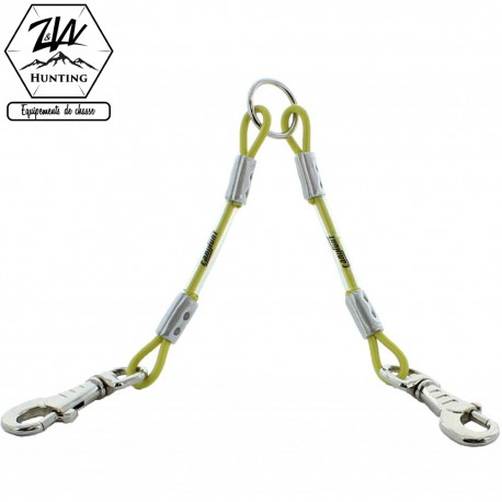 Accouple câble 2 chiens - Canihunt XTREME