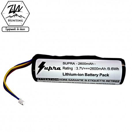 Batterie DC50 & TT grande capacité - Supra