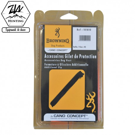 Fermeture à glissière additionnelle - Browning
