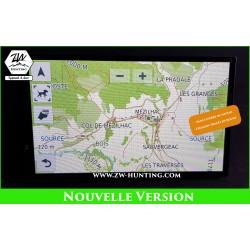 Installation carte TOPO sur DriveTrack